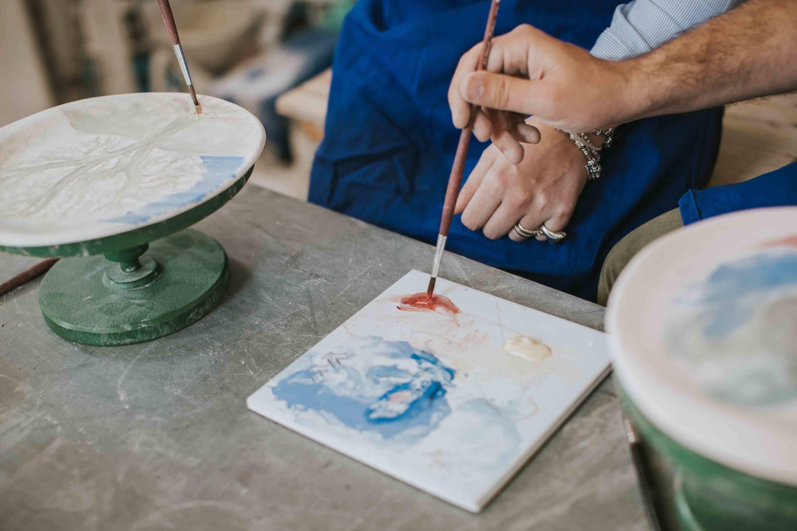 Laboratori creativi: ceramica e pittura